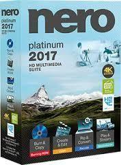 Retail Box Nero 2017 Platinum HD Multimedia Suite for Windows