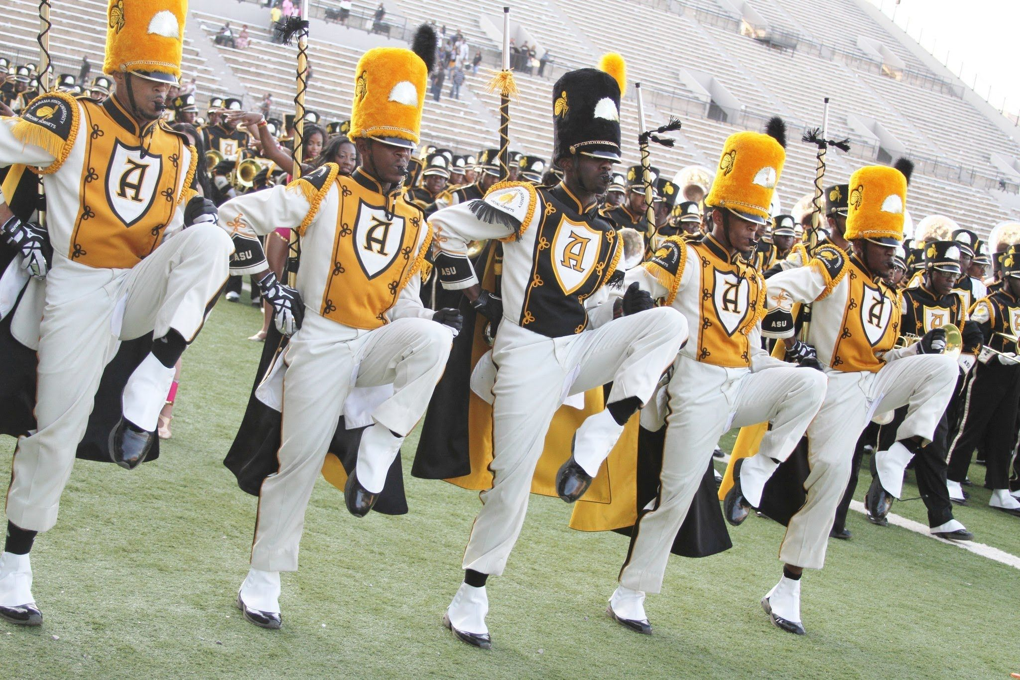 Alabama State Marching In Magic City Classic The Mighty Marching