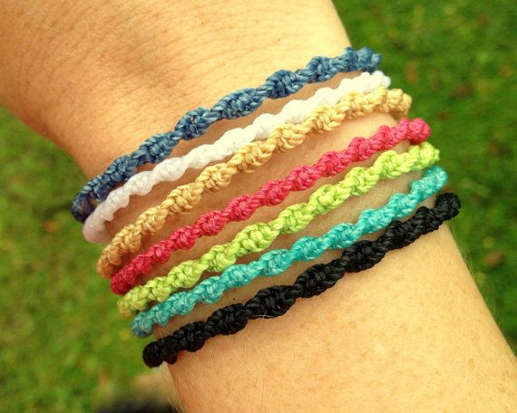 Custom made twisted bracelets by michellemarie1000 on Etsy, $3.00