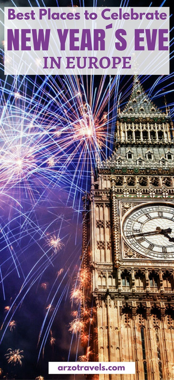 Best Places to Celebrate New Year´s Eve in Europe Road