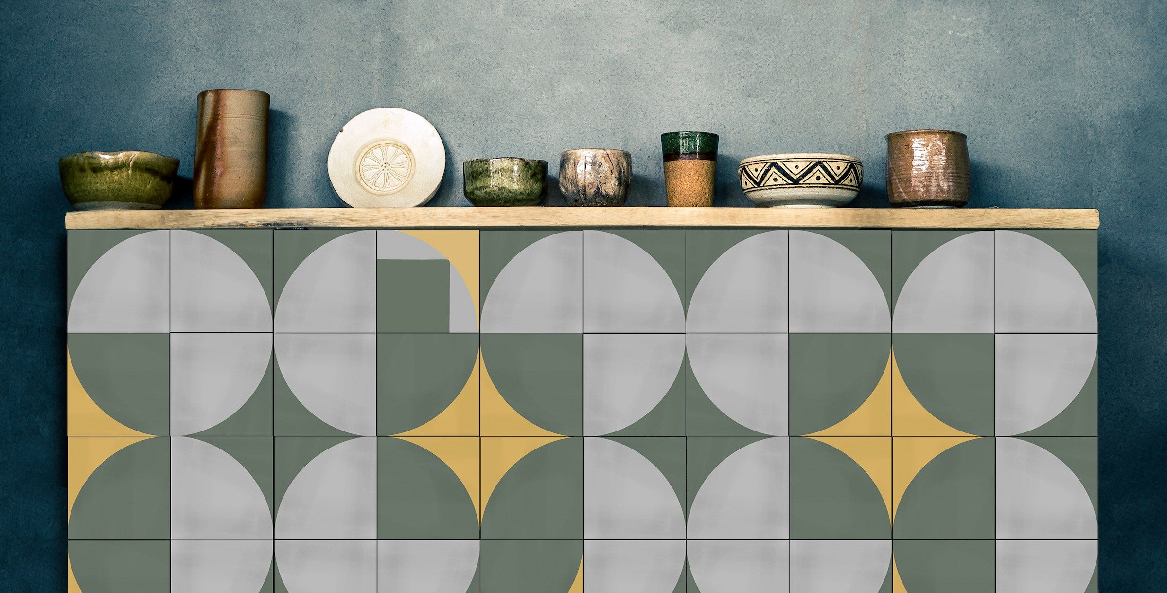 How To Create A One Of A Kind Tile Pattern Carrelage Ciment