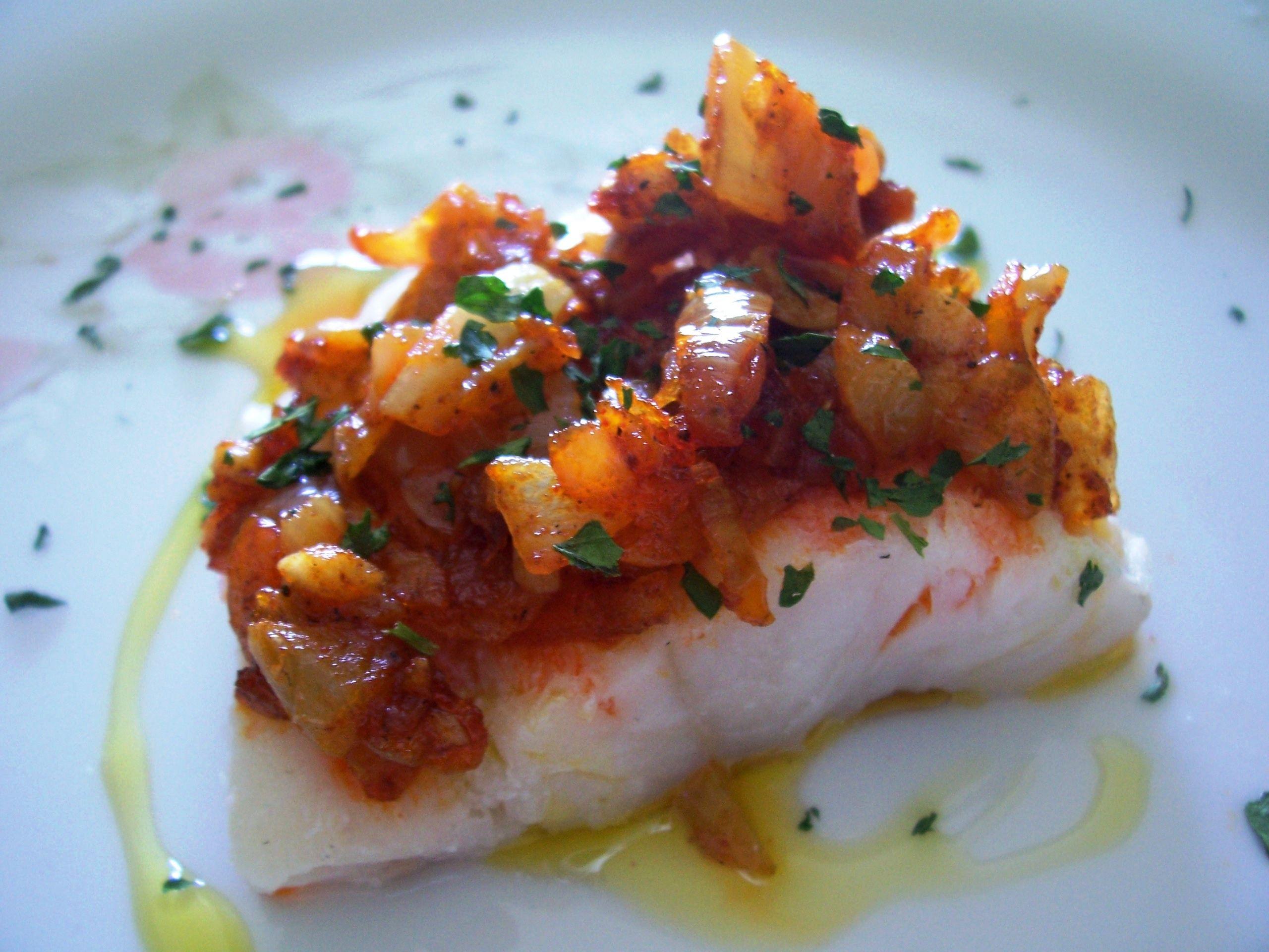 Como Cocinar El Bacalao Desalado | Bacalao A La Cacerena Tvcocina Recetas De Cocina Gourmet