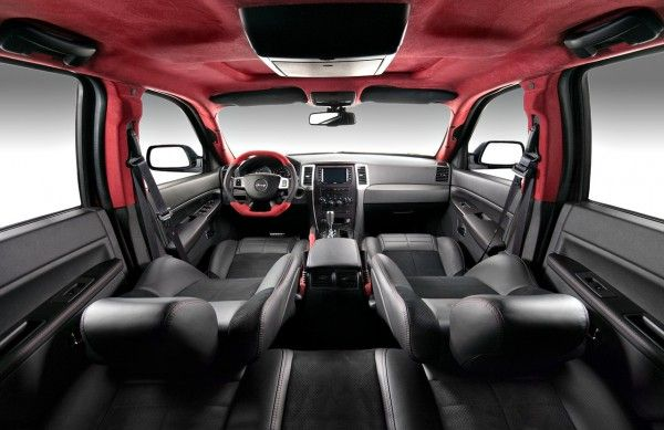 Jeep Grand Cherokee Srt 600 Interior Modification1 Jeep Srt8