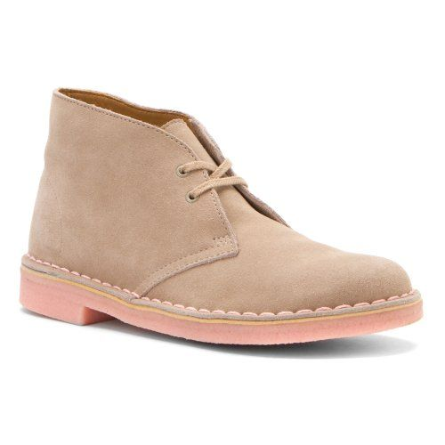 women's clarks desert boots sand