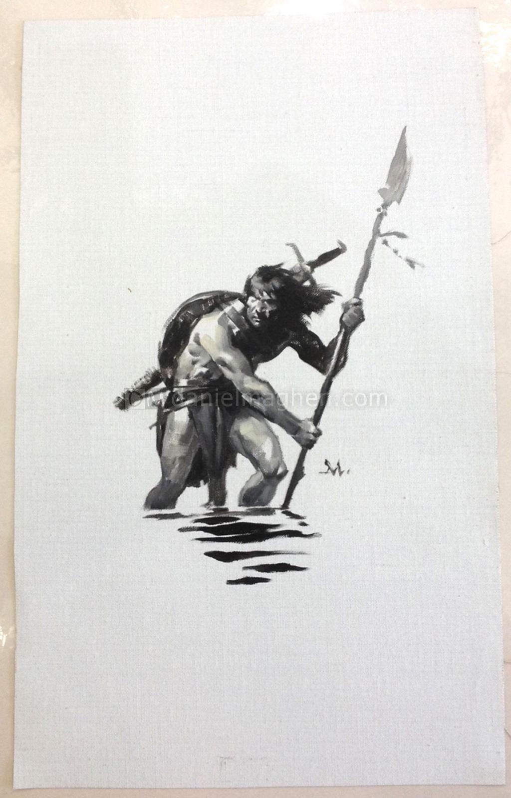Greg Manchess - The Conquering Sword of Conan, Conan Bookpl