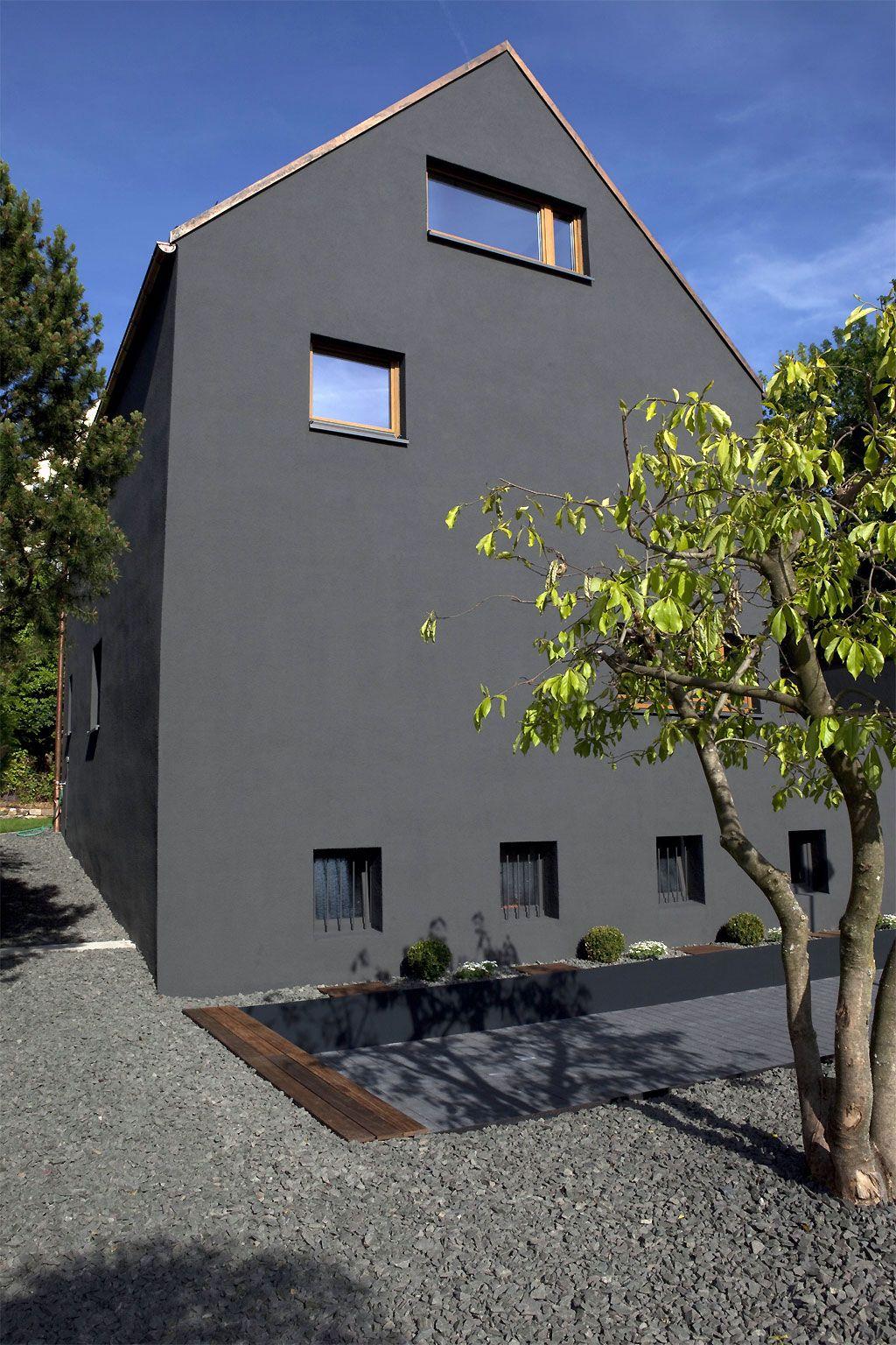 30er-Jahre-Haus lebt auf: ... und alle fragen nach der Farbe ...