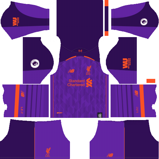 d455893a214 New Red Pepper Dream League Soccer Kits Liverpool 2018-19 ...