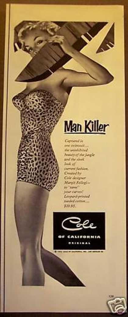 Cole Leopard Swimsuit Margit Fellegi (1953)