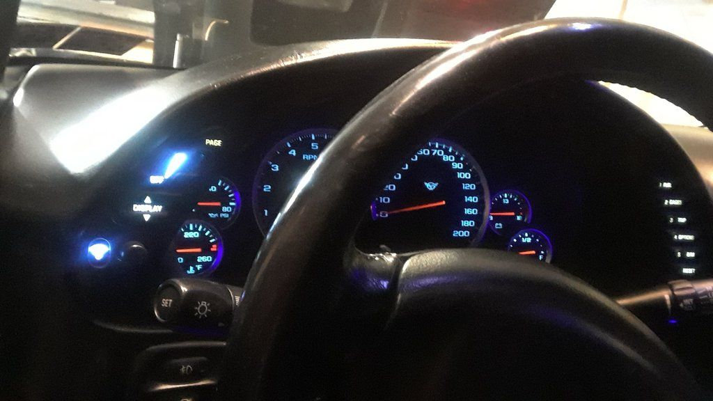 Chevy Corvette Instrument Panel Kit Come With Led Modules Chevy Corvette Led Module Corvette