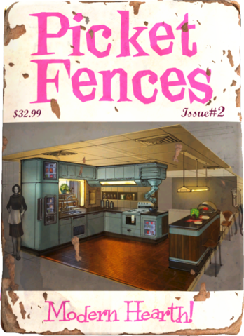 Fallout4 Picket Fences 002 Png Fallout Book Fallout Theme Fallout Props