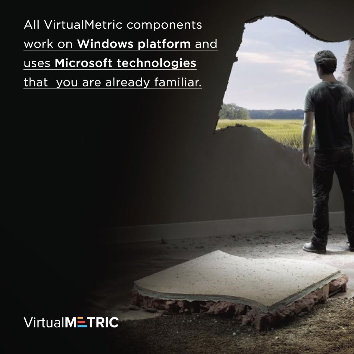 All VirtualMetric components work on Windows platform and uses Microsoft technologies that you are already familiar. Free Trial: virtualmetric.com/try   #virtualmetric #hyperv #iis #sql #vmware #reporting #hypervmonitoring #sqlreporting #ssrs #reportingsolution