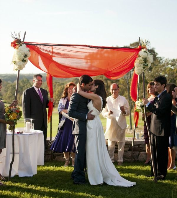 Chuppah made from sari material jewish hindu interfaith wedding beautiful chuppah ideas chuppah made from sari material jewish hindu interfaith wedding junglespirit Gallery
