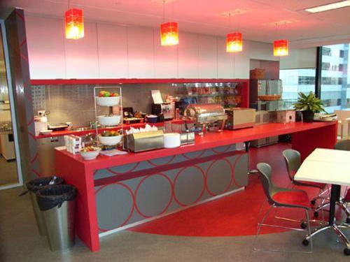 Google office cafeteria Los Angeles Google Office Canteen View Pinterest Google Office Canteen View Office Canteen Google Office Google