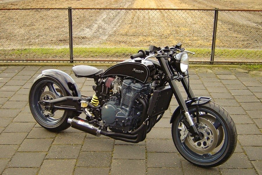 Nozem Motorbikes Gixxer Bobber By Goodhal Garage Learn More At Www