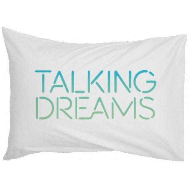 Talking Dreams Pillow Case