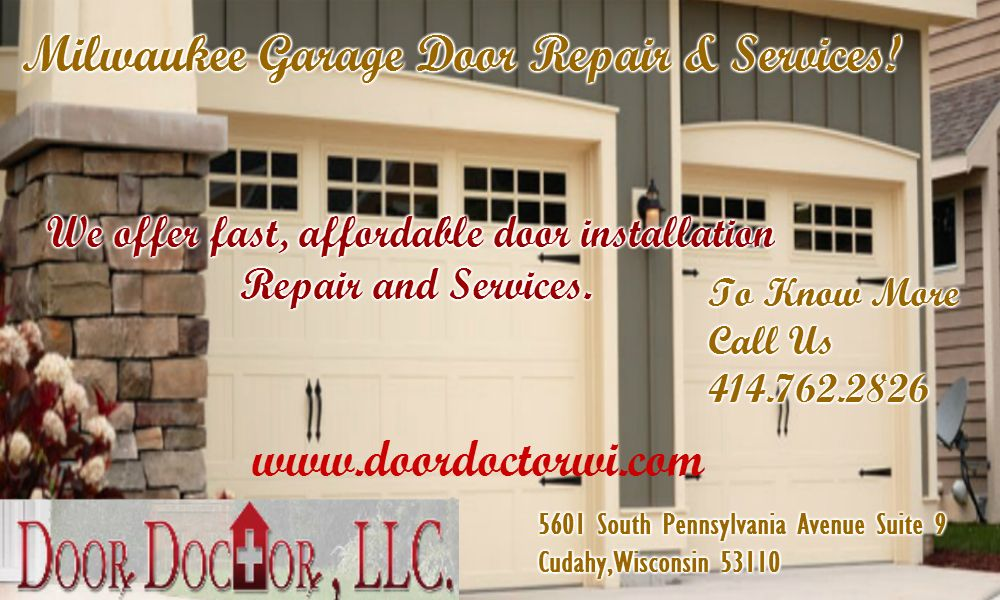 We Service All Brands Of Garage Doors And Openers Call Us Now 414 762 4000 For Your Greater Milwaukee Garage Door Repair Service Door Installation Garage Doors