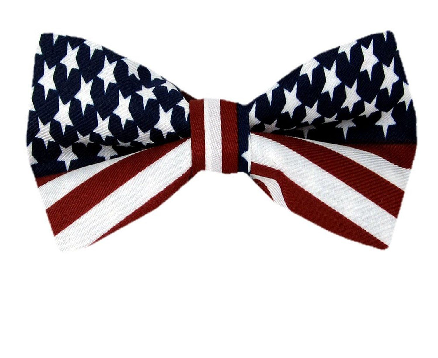 Red gift bows border with clipping path for easy background removing - American Flag Men S Bow Tie Usa Patriotic Bowtie At Amazon Men S