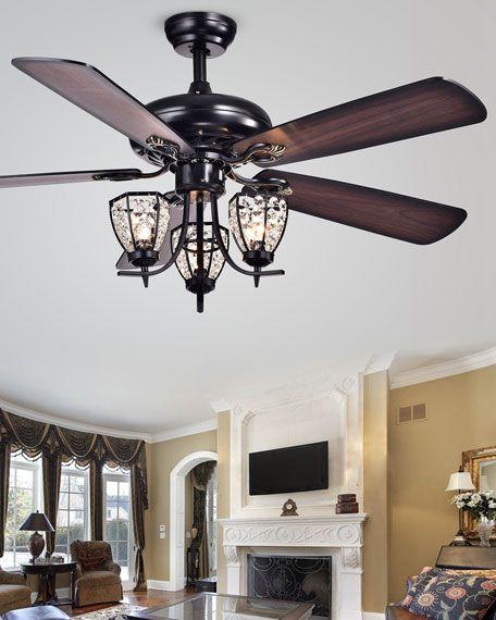 Antoinette Ceiling Fan In 2020 Ceiling Fan Chandelier Ceiling Fan Brass Ceiling Fan