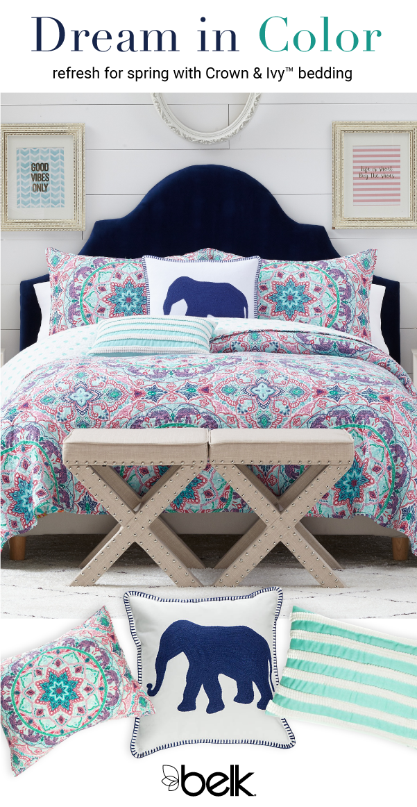 Refresh The Look Of Your Bedroom For Spring With New Crown Ivy