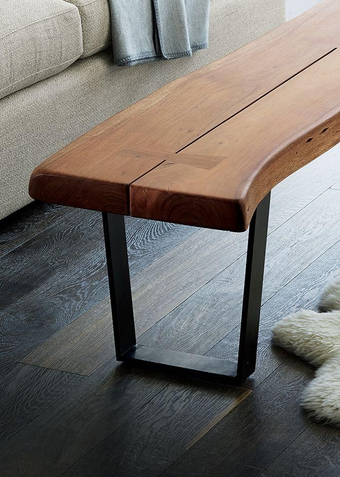 Narrow Coffee Table Bench Home Decorating Coffe