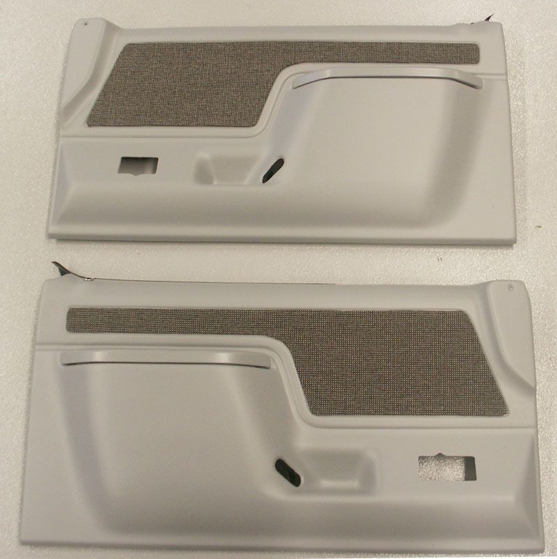 1987 1991 Ford Bronco And F Series Truck Door Panels Dark Gray Pair Broncograveyard Com Ford Bronco Ford Bronco Parts Bronco