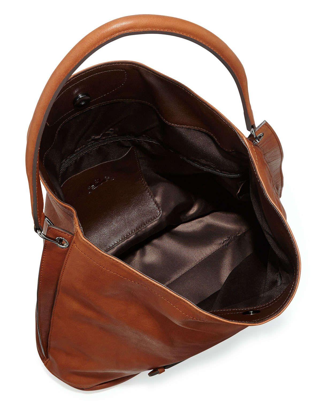 0b2dfe22c3 Longchamp 3D Leather Hobo Bag