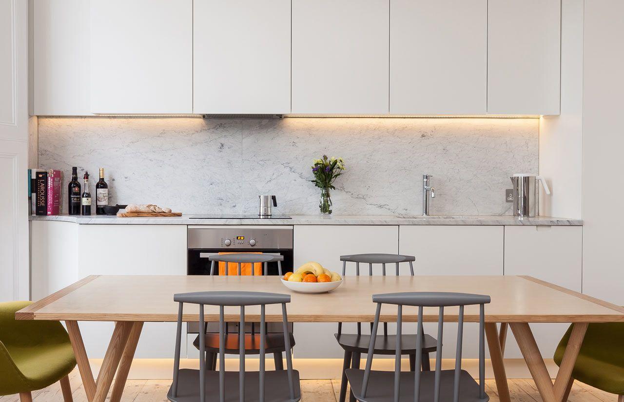 Contemporary kitchen in georgian house - Georgian House Gets A Modern Make Over Design Milk