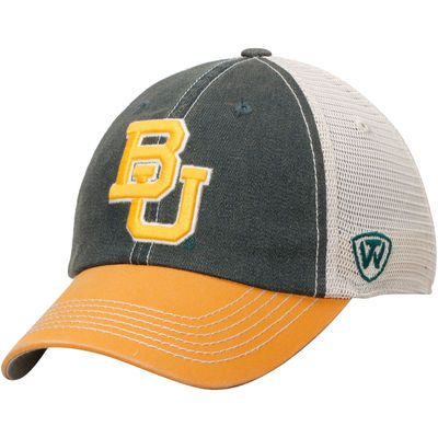 Top of the World Baylor Bears Green Tan Offroad Trucker Hat ... e36cb174f