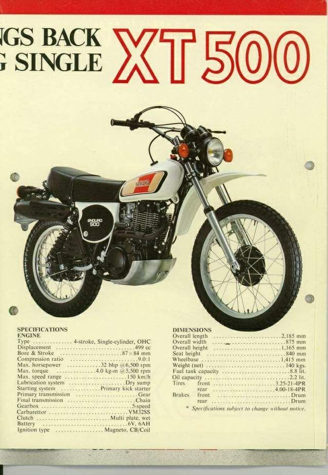 Yamaha XT500-1977 | SCRAMBLER project | Pinterest | Yamaha, Bike and