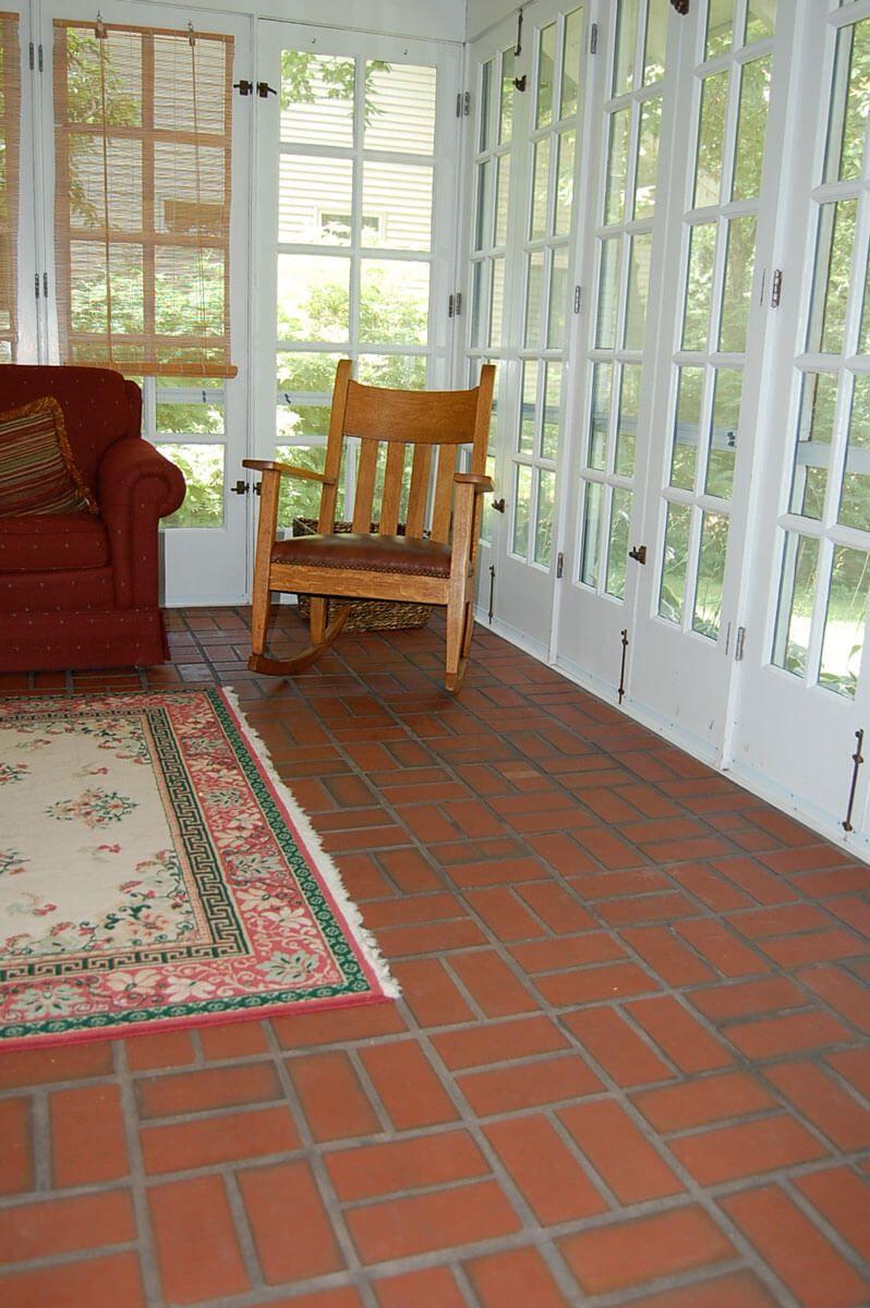 Clay Brick Flooring Gallery Thin