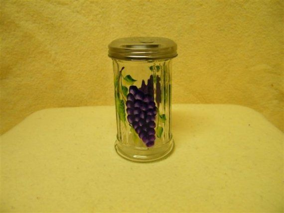 Hand painted, Grape, Sugar Pourer