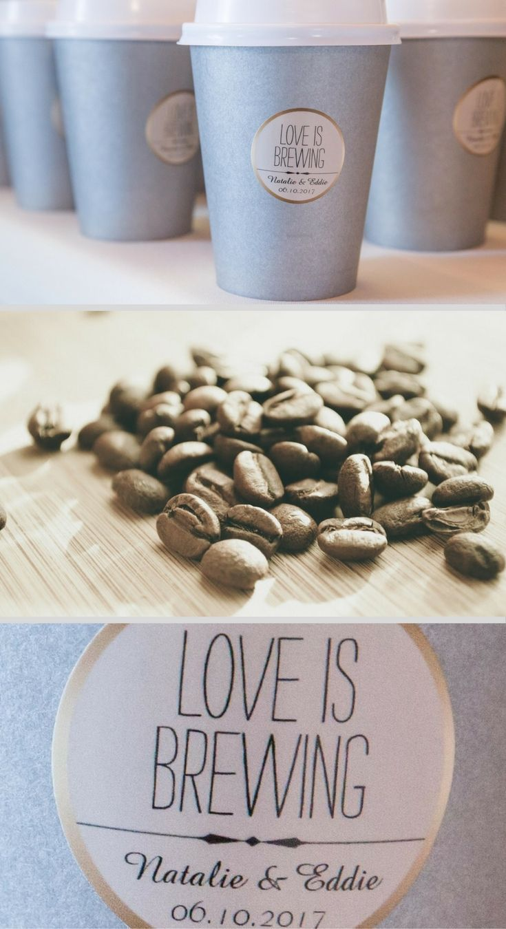 Coffee wedding favors your guests will love coffee