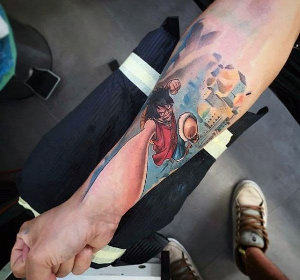 Photo of Newest 17 Tattoo On Hand Backs – 70 One Piece Tattoo Designs For Men Japanes …