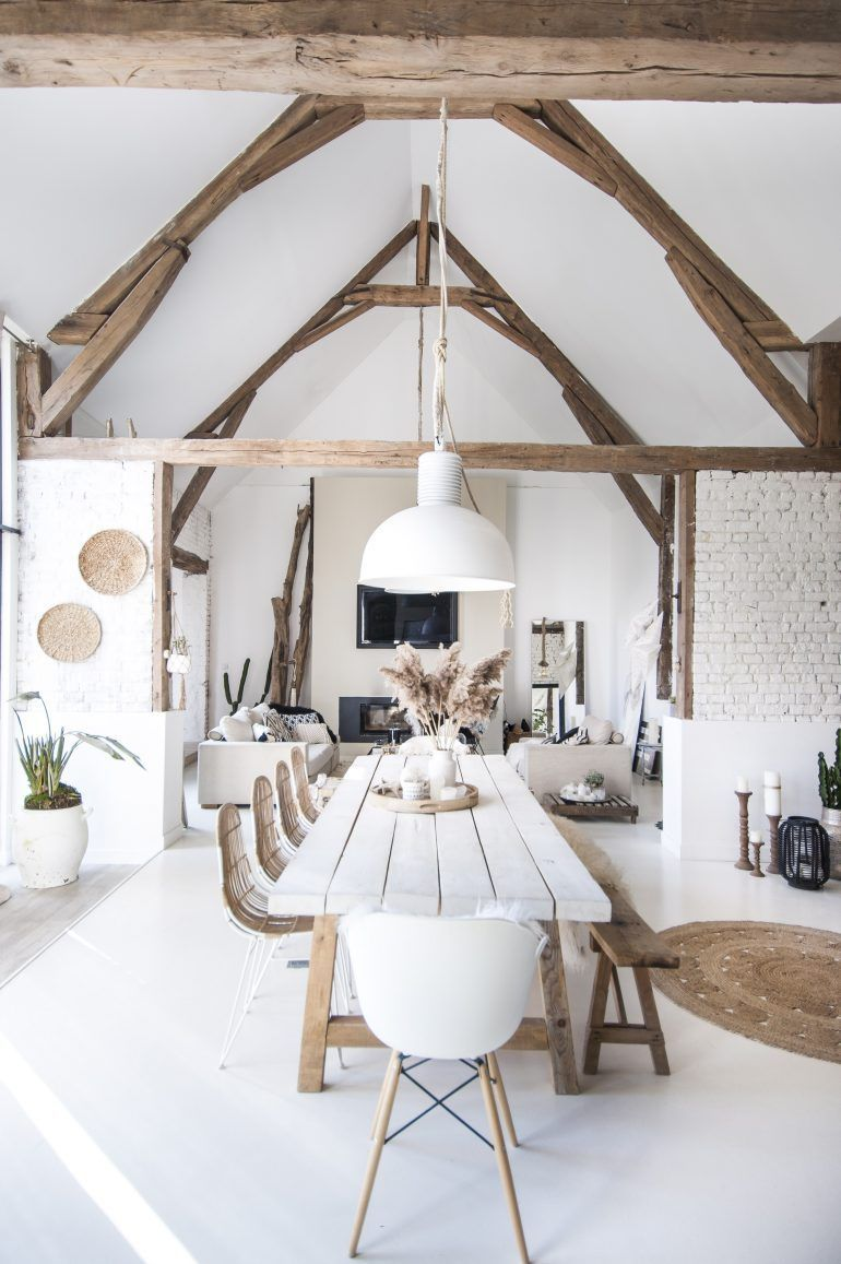 grange r nov e farmhouse interior pinterest grange r nov e grange et int rieur. Black Bedroom Furniture Sets. Home Design Ideas