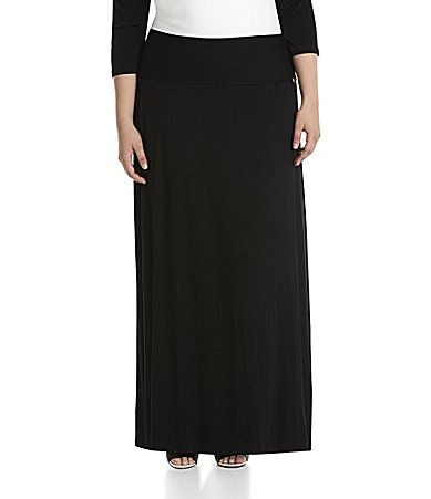 Calvin Klein Woman Maxi Skirt #Dillards Great for Travel