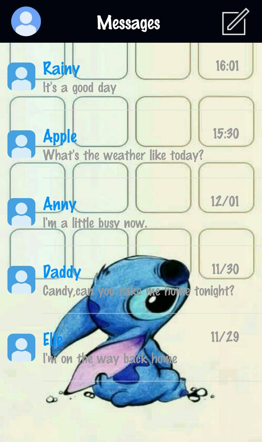 my diy theme for go sms. download and enojoy it! | my go sms themes