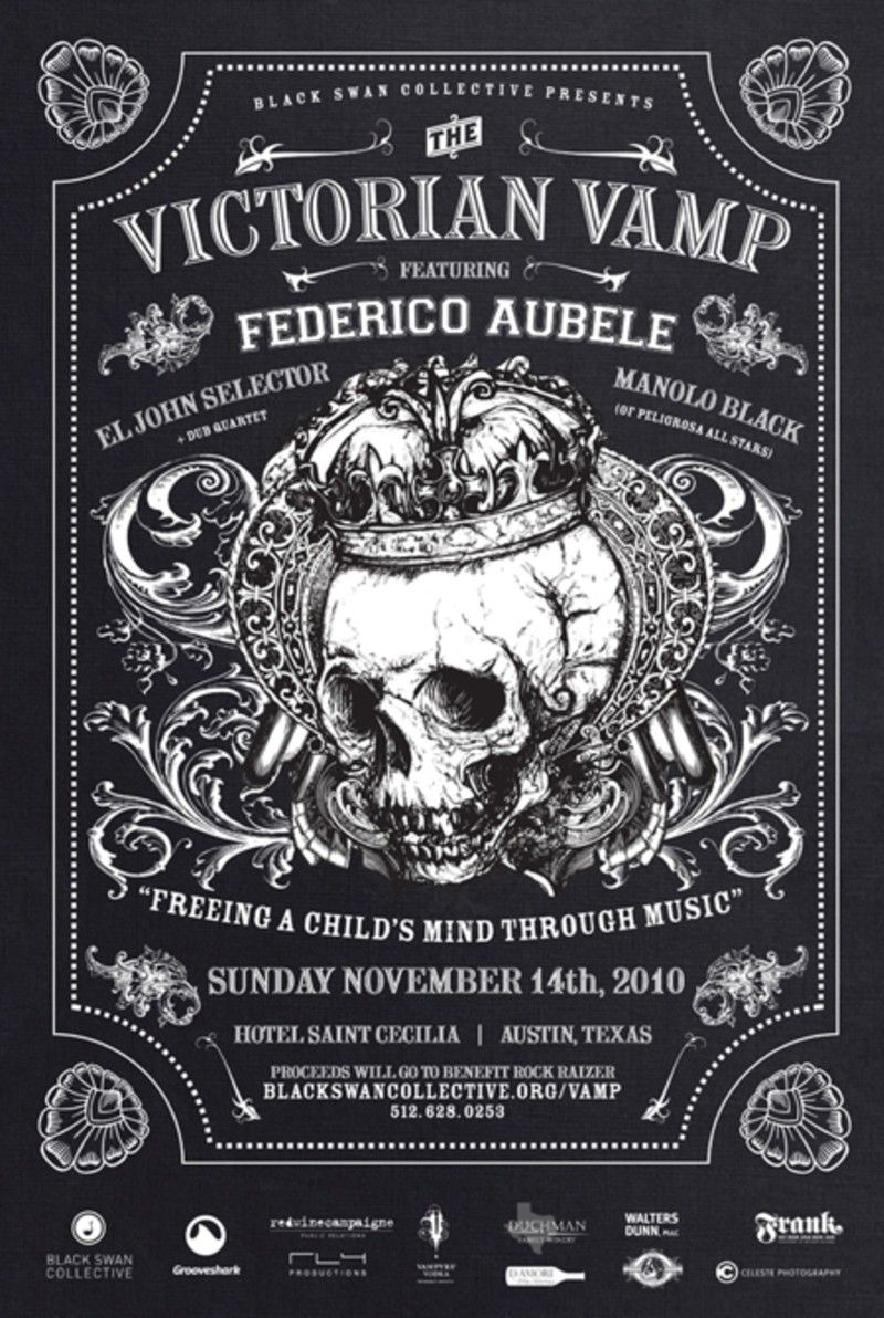 VICTORIAN VAMP is CANCELLED in Austin at Hotel Saint Cecilia | Art ...