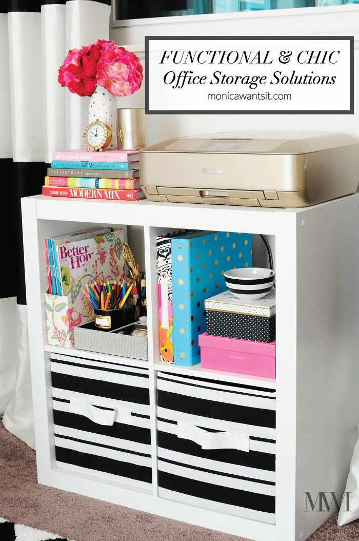 Functional Chic Office Storage Ideas 100 Giveaway