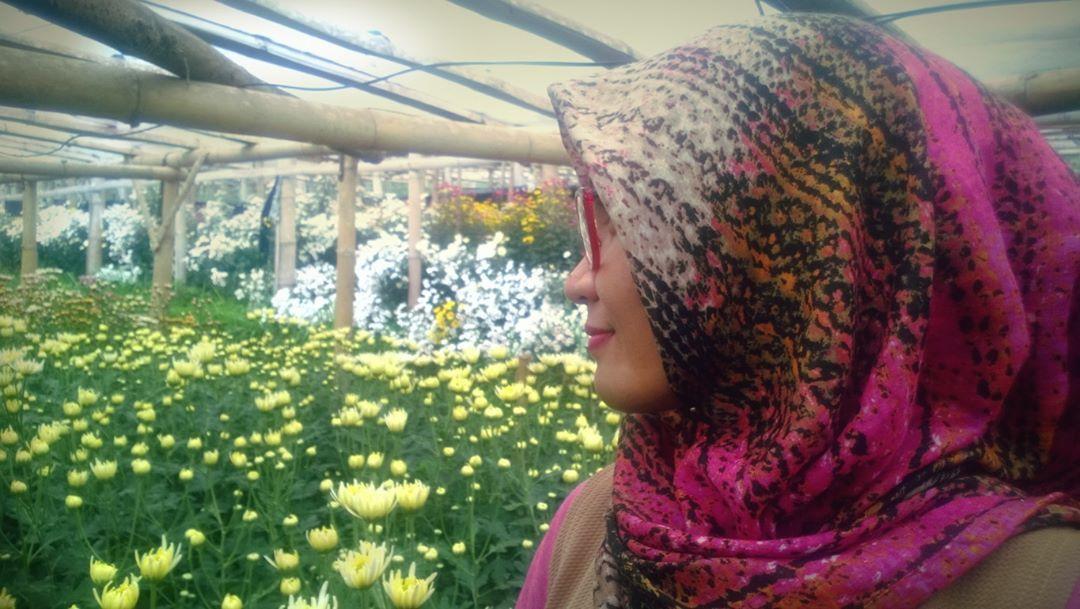Bahagiaku Melihatmu Bunga Bunga Tumbuh Berkembang Warna Warni Nan Cantik Cantik Di Kampungkrisanclapar Bun Hair Styles Flower Garden Style