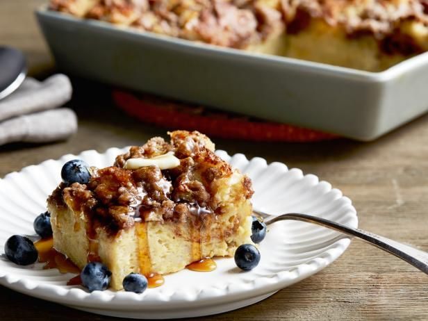 Get Cinnamon Baked French Toast Recipe from Food Network