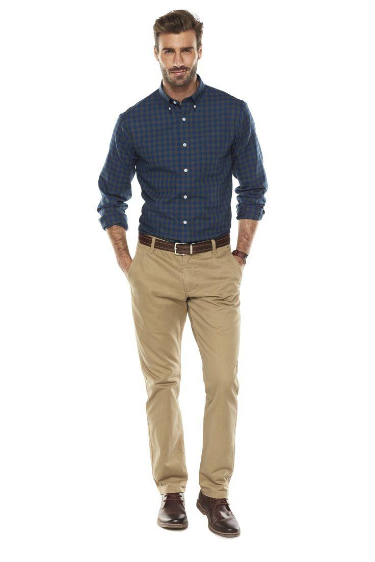 9ff2420dcfd Classic fall styling.  buttonup  menswear  Kohls