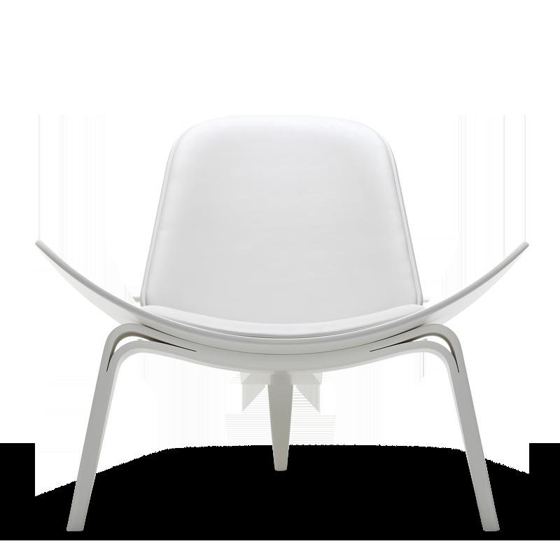 white shell chair ch07 1963 chair stuhl chaise design hans j wegner carl hansen s n. Black Bedroom Furniture Sets. Home Design Ideas