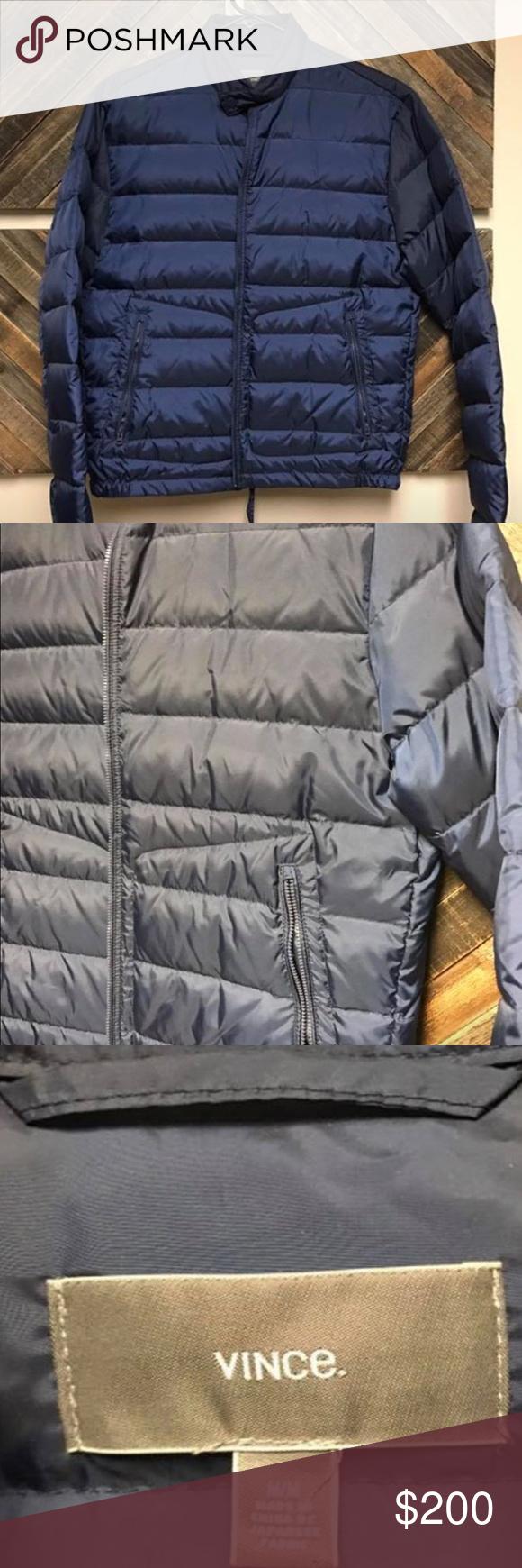 Vince Blue Puffer Coat Nwot Blue Puffer Blue Puffer Jacket Puffer Coat [ 1740 x 580 Pixel ]
