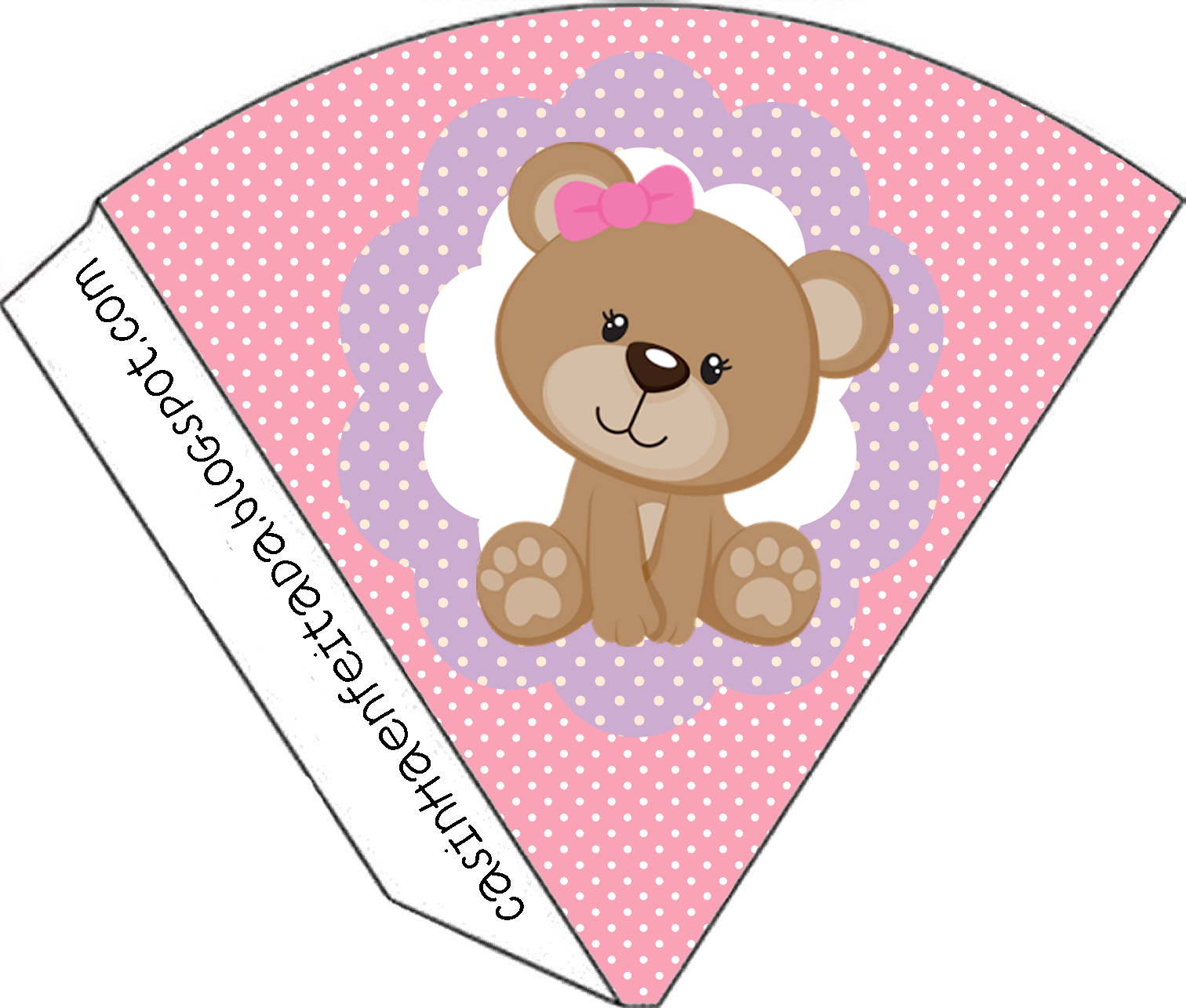 Kit Festa Ursinha Rosa Para Imprimir Gr Tis Teddy Bearbabyshowerclip