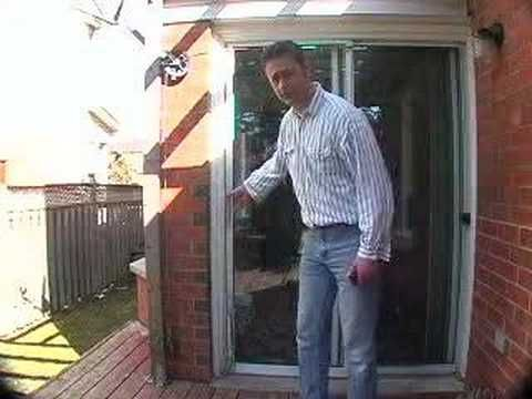 Automatic Door Closer For Sliding Screen Door Using Pulley And