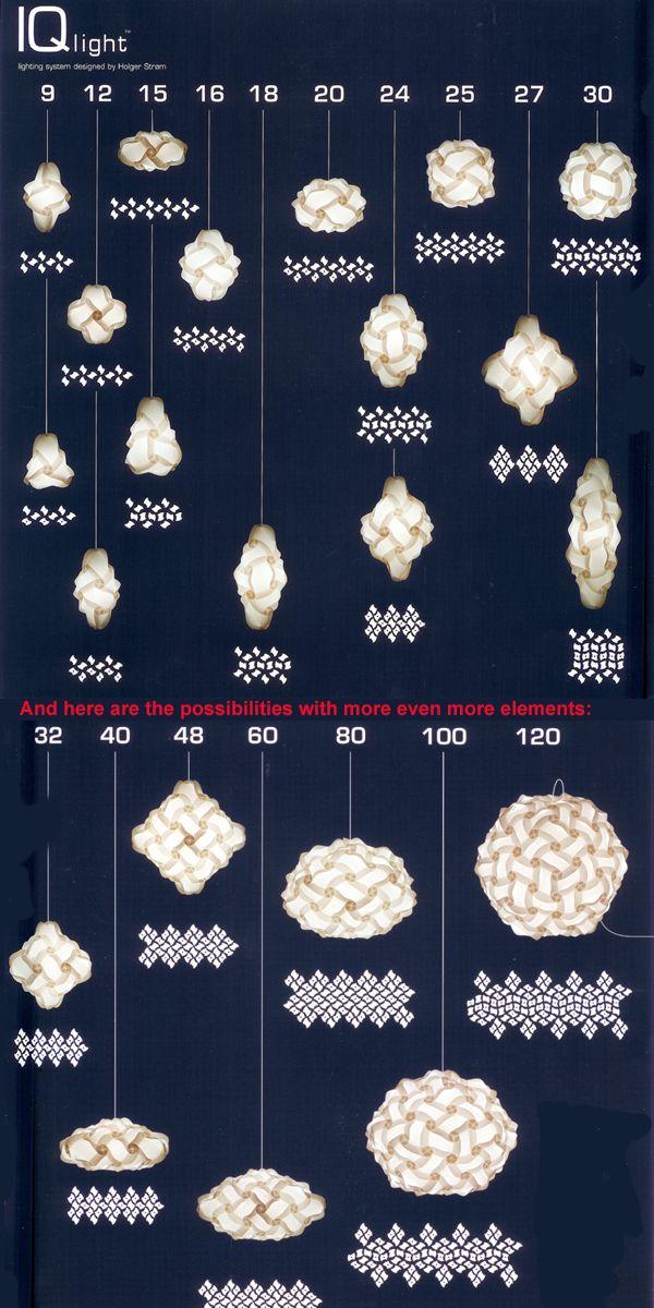 Lampara Iq Instrucciones De Armado Manualidades Decoracion Decorar Piezas Jpg 600 1200 Origami Lamp Paper Crafts Diy Puzzle Lights