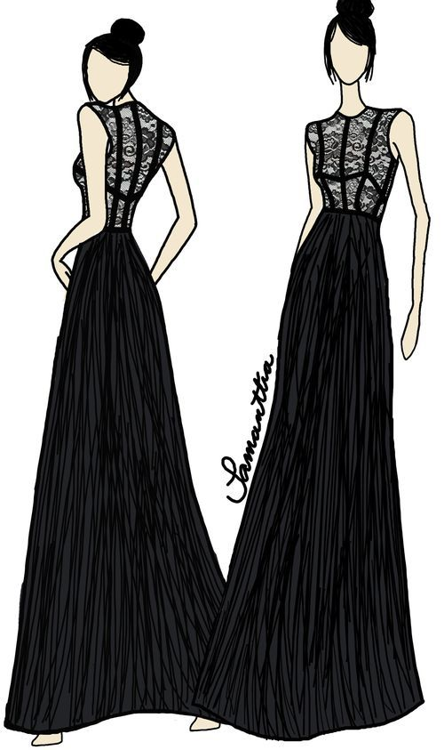Dress design fashion designers mcqueen and sketches Contemporary fashion designers