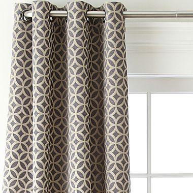 Studio Hudson Grommet Top Curtain Panel Jcpenney For