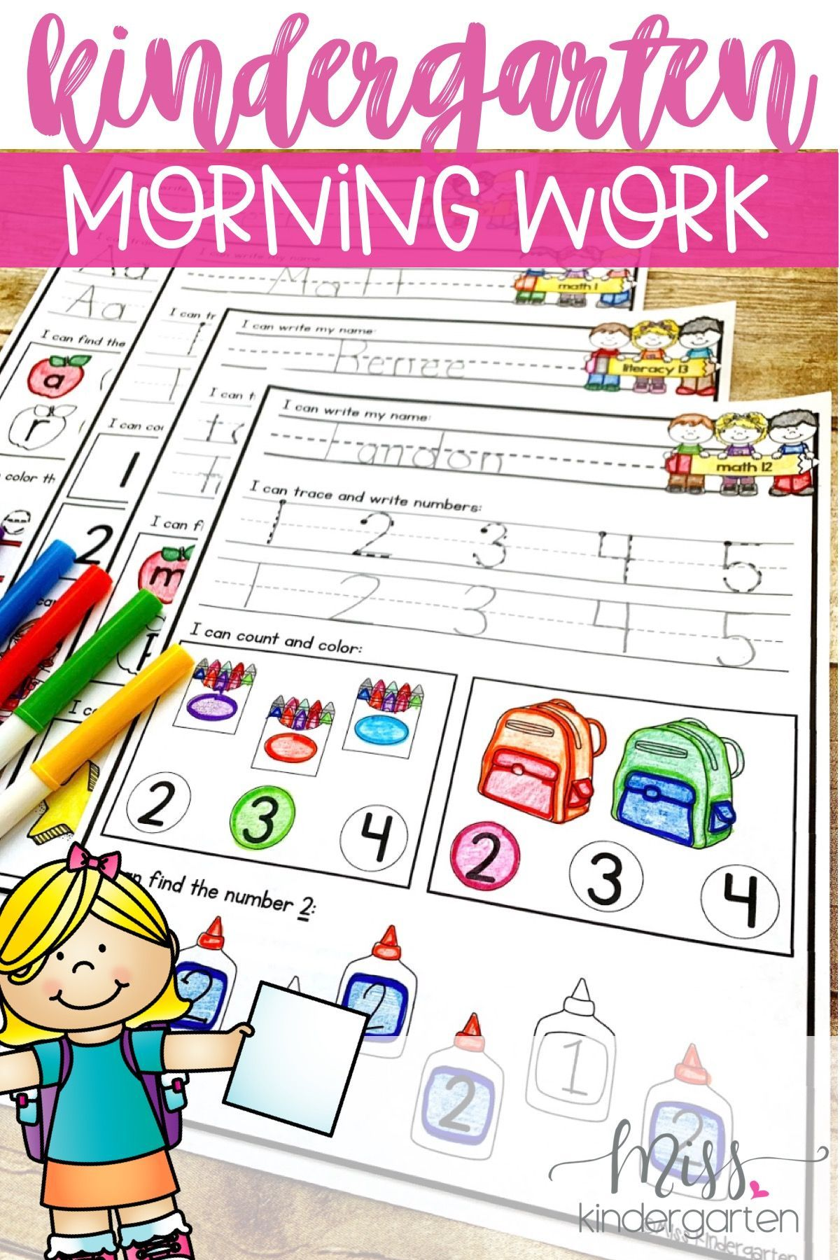 Morning Work Is A Great Way To Ease Your Students Into