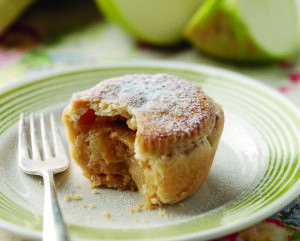 Bramley Apple, Ginger and Caramel Pies Recipe | Desserts, Pastry, Pie Recipes | Kitchen Goddess